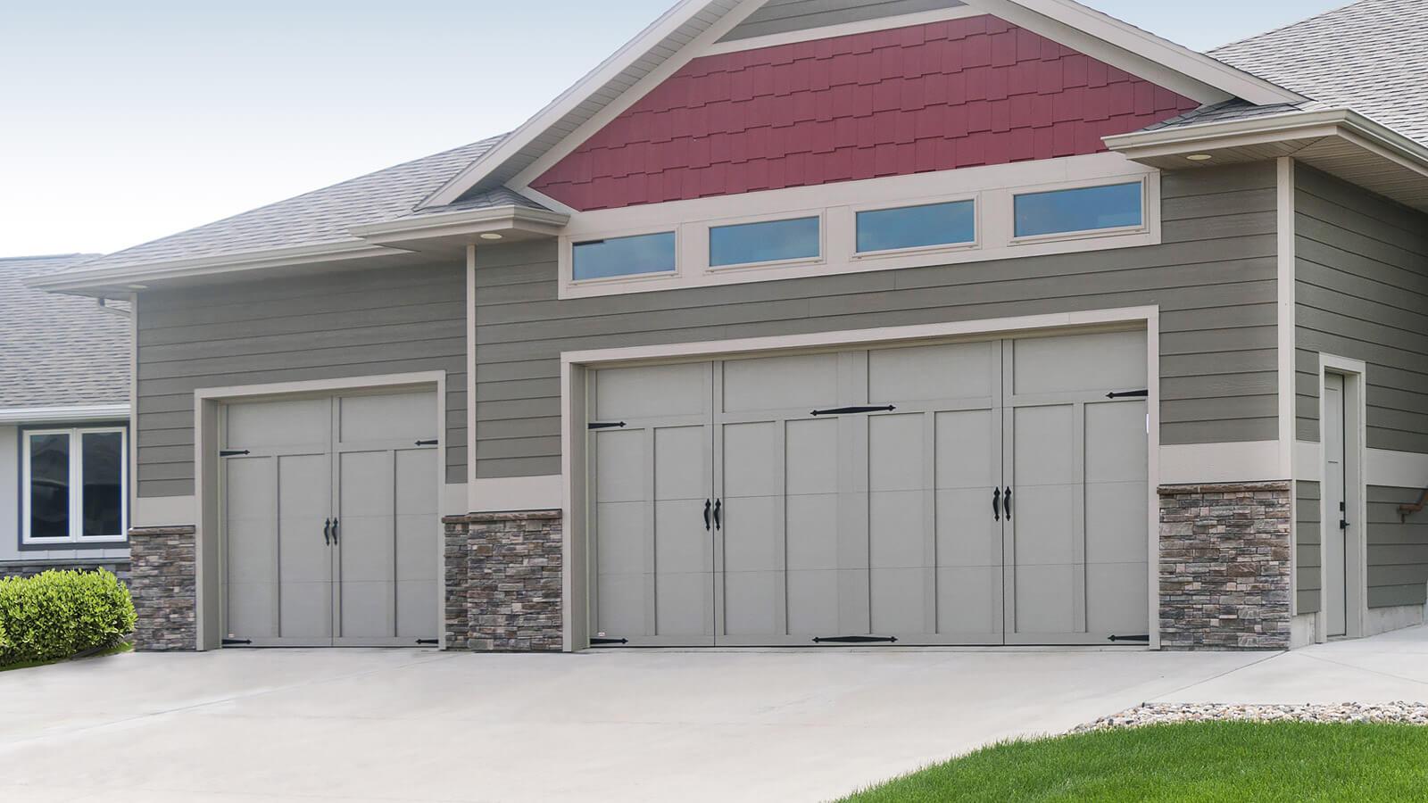 Courtyard Wind Load Garage Door