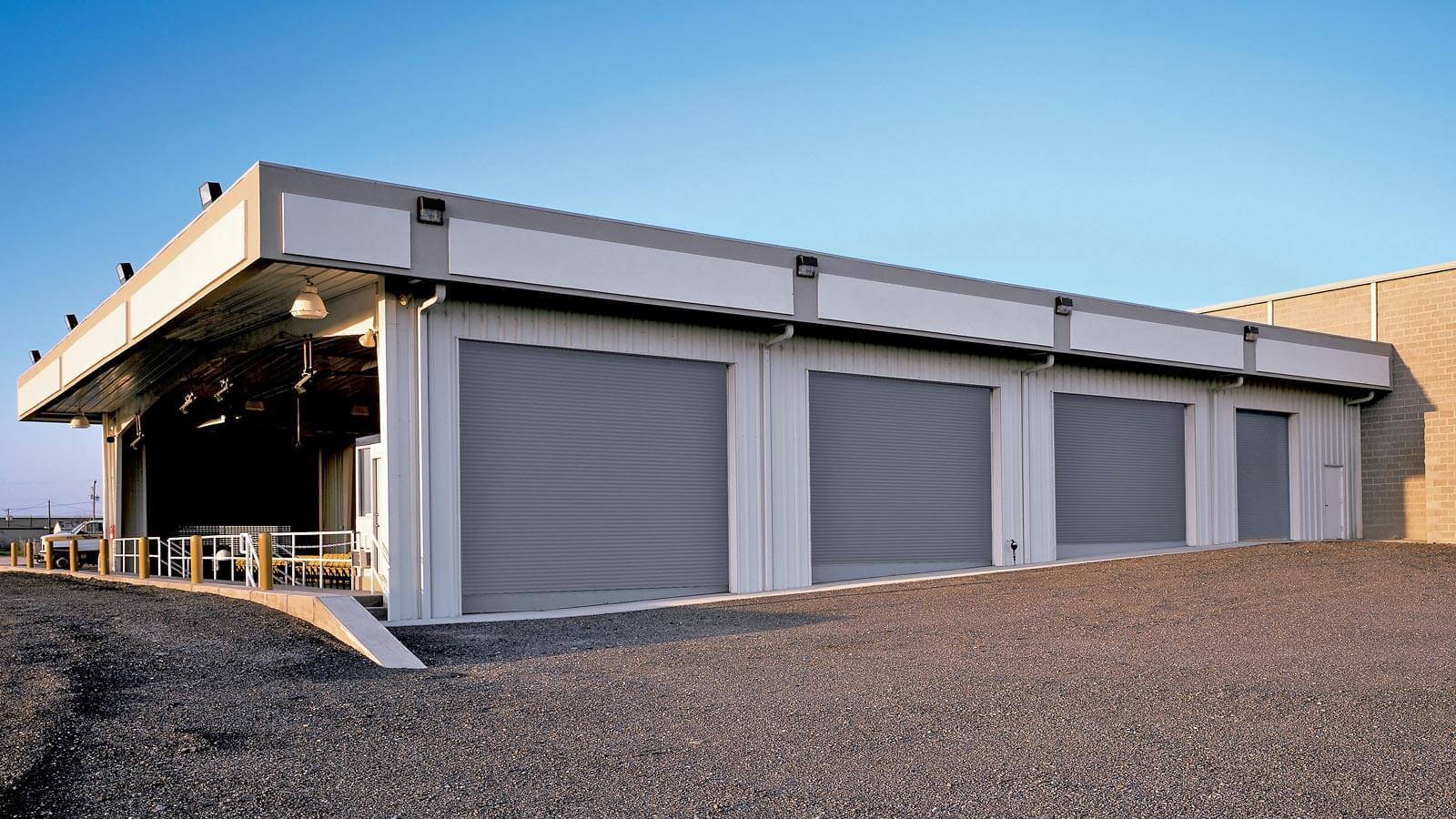 Rolling Service Garage Door