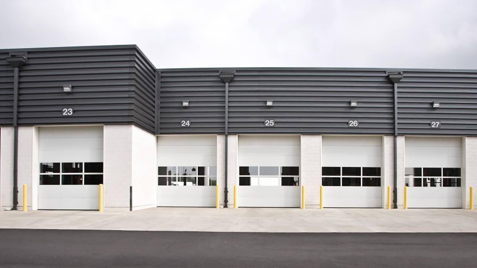 Sectional Steel Garage Door